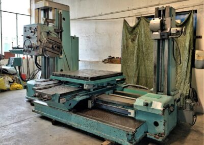 #05255 Horizontal Boring Machine TOS VARNSDORF W100 – with tooling