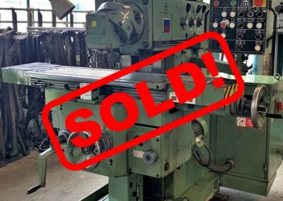 #05256 Milling Machine TOS FGS 25/32 – sold to Chile