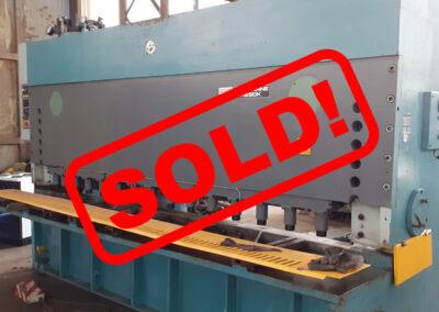 #05265 Hydraulic shears PIESOK CNTA 3150 x 16 mm – sold to Poland