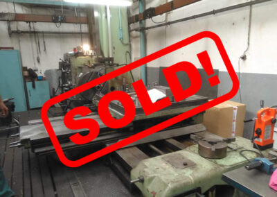 #05269 Horizontal Boring Machine TOS VARNSDORF W100 – video available ▶️ – sold to Mexico