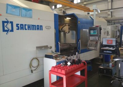 #05282 Sachman TS10 – 5 axis horizontal machining centre – new 2014
