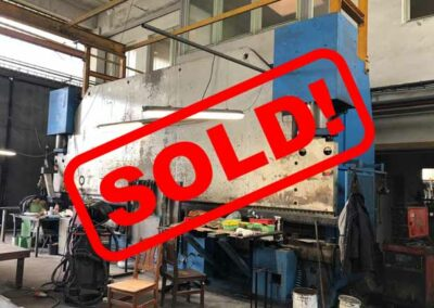 #05300 PRESS BRAKE COLLY PSP500/7250 CNC CYBELEC MODEVA 12S – 1989 – with set of – video available ▶️ – sold to Vietnam