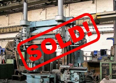 #05301.1 vertical lathe SCHIESS ZK180 – sold to India