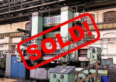 #05301.2 vertical lathe SCHIESS ZNK2000 – sold to India