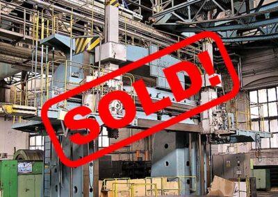 #05301.5 vertical lathe TOS SK50 CKD BLANSKO – sold to South Korea