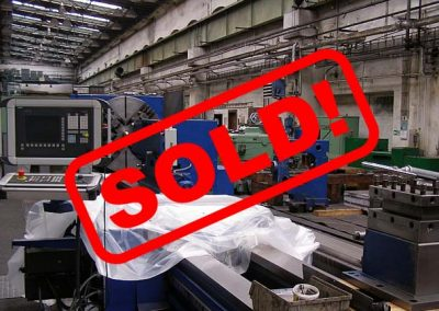 #05301.15 Lathe heavy SKODA SUT126/6000 CNC Sinumeric 840D – sold to South Korea