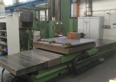 #05317 Horizontal Boring Machine TOS WHN13.8 CNC Heidenhein TNC426 – video available ▶️