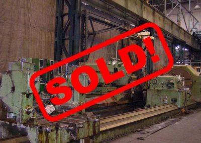 #05301.18 Waldrich Siegen Roll Grinder WST1800/10000 – video available ▶️ – sold to Denmark
