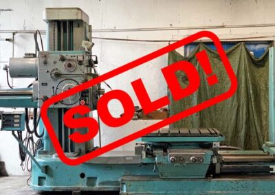 #05255 Horizontal Boring Machine TOS VARNSDORF W100 – video available ▶️ – Sold to Chile