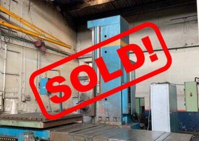 #05357 Horizontal Boring Machine TOS WHN13.8 CNC Heidenhein TNC135 – sold to India