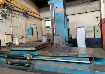 #05357 Horizontal Boring Machine TOS WHN13.8 CNC Heidenhein TNC135