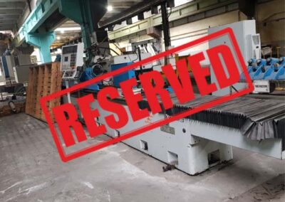 #05365 TOS Universal Cylindrical Grinder BUT63/4000 CNC Siemens 2007