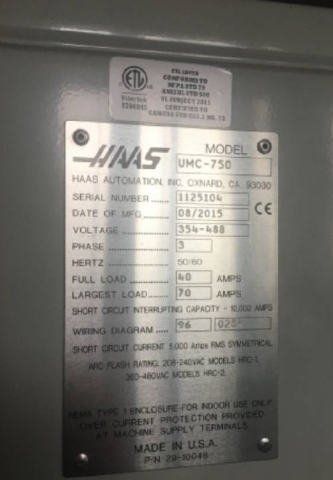 5367-haas umc 750.03