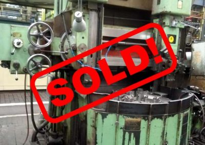 #05358 vertical lathe TOS SK 12 – video available ▶️- sold to Mexico