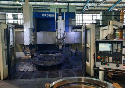 #05401 vertical lathe Froriep 20 CNC Sinumerik 840D – yor 2009