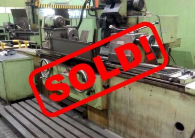 #05405 Universal cilindrical grinding machine TOS BHU50/1500 – video available ▶️ – sold to India