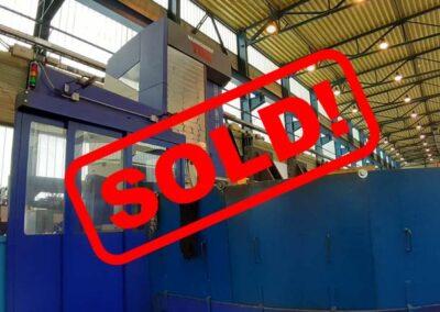#05422 Horizontal Boring Machine TOS WHQ 13 CNC Heidenhain iTNC530, incl. 40 pcs toolchanger – YOP 2014 – sold in Czech Republic