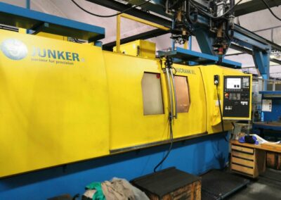 #05433 CNC Crankshaft grinder Junker Jucrank 6L, Sinumerik – new 2008 – video available ▶️