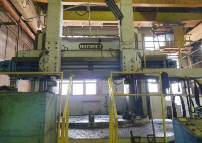 #05434 vertical lathe Rafamet KCF 320/350