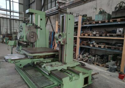 #05447 Horizontal Boring Machine TOS VARNSDORF W100A – ISO 50