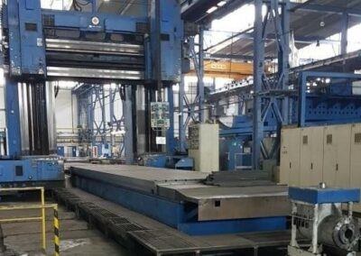 #05452 Portal milling machine TOS FREP-D 20x40A CNC Sinumerik – incl. overhaul 2003 – incl. 4 additional spindle heads