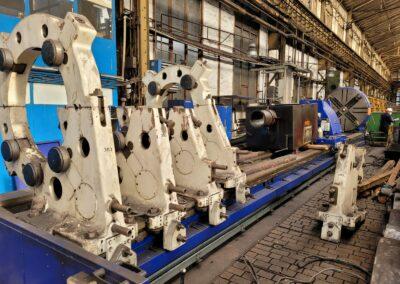#05456 Horizontal Lathe SKODA SR 2000×12000 CNC Siemens Sinumerik 802D – video available ▶️