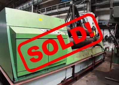 #05459 Plate rolling machine PIESOK XZCT3000/16-22 – sold to Peru