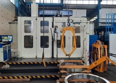 #05506 vertical lathe FRORIEP 6KZ 200 CNC Siemens 840D – yom 2010 – video available ▶️