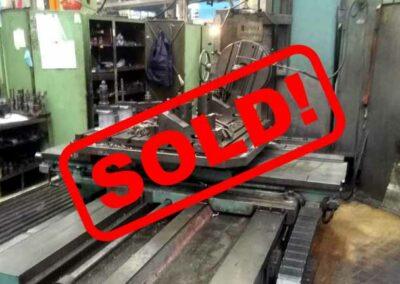 #05511 Horizontal Boring Machine TOS VARNSDORF W100 – sold to Chile