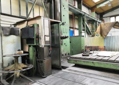 #05517 Horizontal Boring Machine TOS WHN13.8 CNC Heidenhein 426