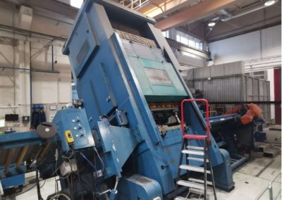 #05518 MOSSINI PDM / 1B / 500 CNC eccentric press, sheet metal pressing line – new 2016 – complete line– video available ▶️