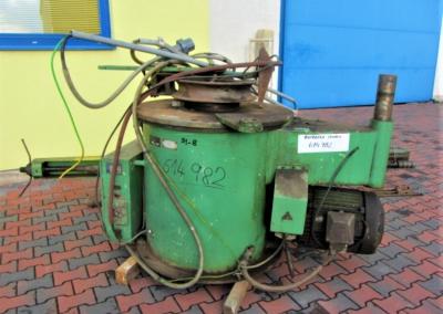 #5522 – Tube bending machine Strojarne Piesok XOT 110