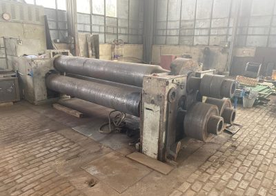 #05528 Plate and perfil rolling machine PIESOK XZMP3150-16/24 – hidraulic – video ▶️