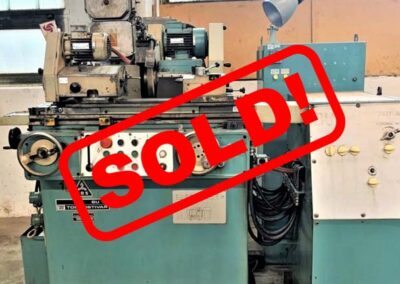 #05533 – TOS Universal Cylindrical Grinder BU16 – video available ▶️ – sold to Germany