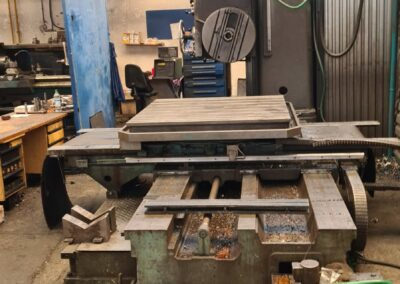 #05543 Horizontal Boring Machine TOS VARNSDORF W100A – ISO 50 – incl. tailstock and faceplate