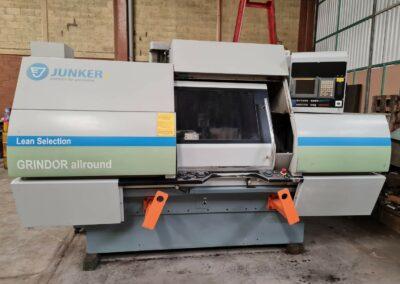 #05455 Universal grinder Junker Grindor Allround CNC Fanuc 21i – new 2011– video available ▶️
