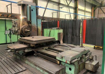 #05566 Horizontal Boring Machine TOS VARNSDORF W100– video available ▶️