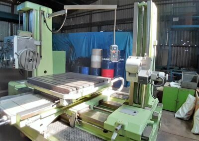 #05568 Horizontal Boring Machine TOS VARNSDORF W100A with accessories – video available ▶️