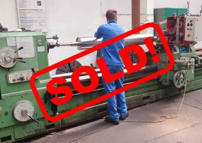 #05570 Lathe TACCHI 800/6000 – video available ▶️ – sold to Chile