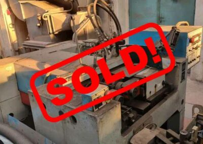 #05580 Thread rolling machine WMW UPWS 16 with large set of rolls – sold in Czech Republic