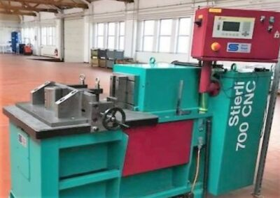 #05582 Hydraulic horizontal press STIERLI-BENDER 700 CNC