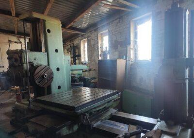 #05591 Horizontal Boring Machine TOS VARNSDORF H80