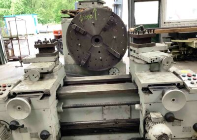 #05599 Frontal Lathe WMW DP 1250/630 – with 2 carriages/4 feeds